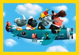 SC 4338 Animal Plane