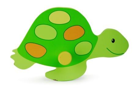 N 17132 Kapstok schildpad