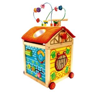 PT 87160 Speelhuis op wieltjes