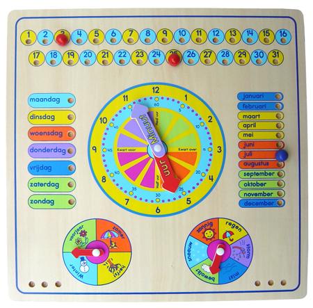 CT PC 483 Klok met kalender