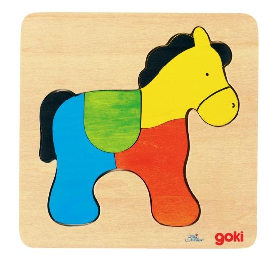 D 8657822 Puzzel paard