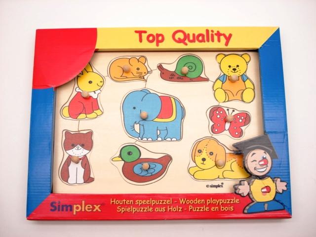 SIM-3956331 Inlegpuzzel dieren groot
