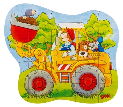 D 8657518-1 Puzzel auto