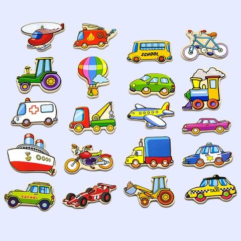 AV 8924 Magneet figuren voertuigen