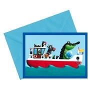 SC 004399 Animal Boat
