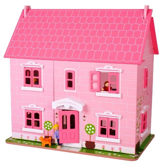 BJ JT 124 Poppenhuis roze