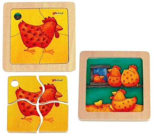 NCT 11172 Mini discovery puzzel kip
