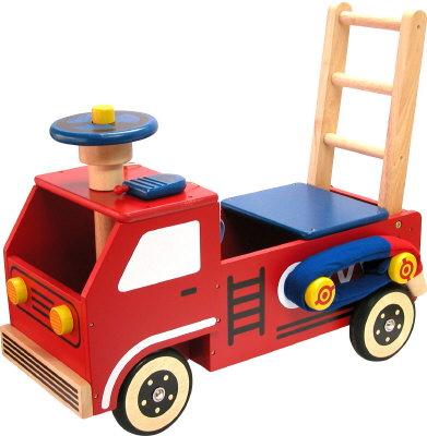 I M 87120 Brandweer loop/duwwagen
