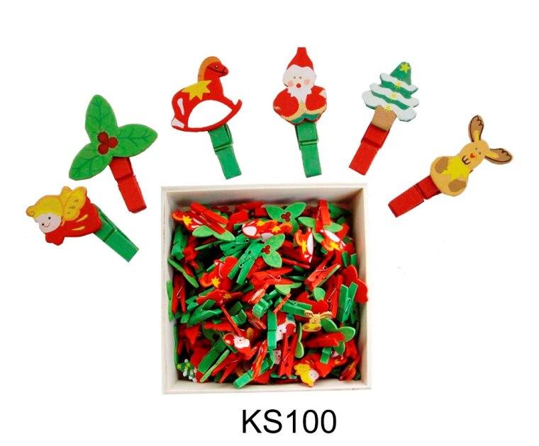 CT KS 100 Kerst knijpertjes