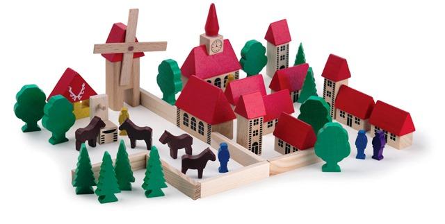 ET 510900 Dorpje met kerk