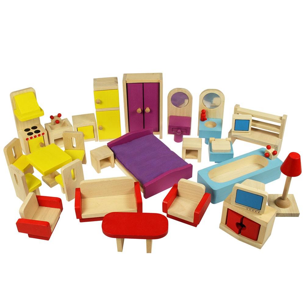 BJ JT 116 Set poppenhuis meubeltjes