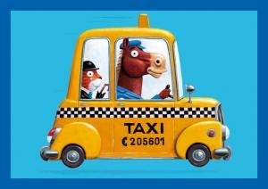 SC 004328 Taxi Horse