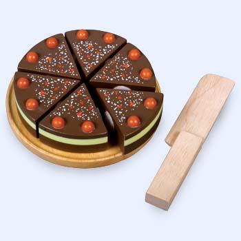 A F 5393 Chocoladetaart