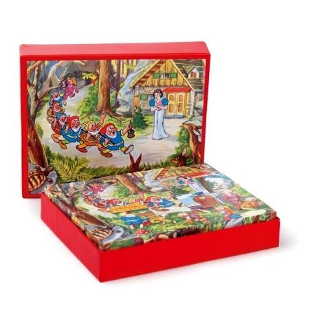ET 570000 Kubus puzzel Sneeuwwitje
