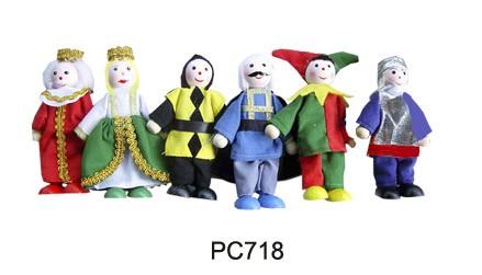 CT PC718 Buigpopjes koninklijke familie