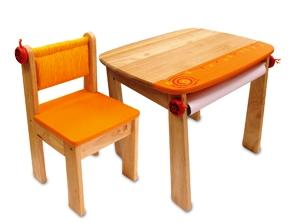 P IM 42023OR Stoel oranje