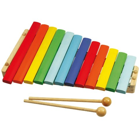 BJ 660 Gekleurde Xylofoon van hout
