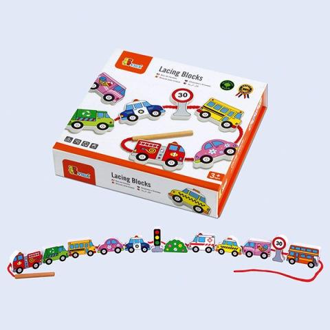 A V 9851 Rijgkralen voertuigen