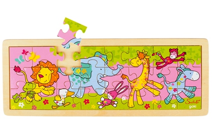 D 8657507 Puzzel babydieren
