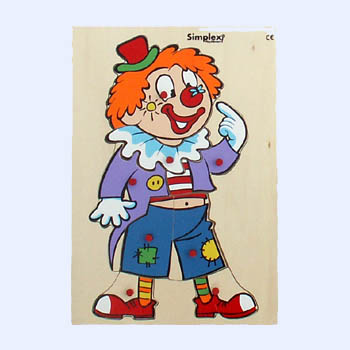 A W 6456 Puzzel clown