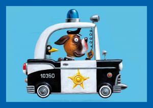 SC 004326 Police Dog