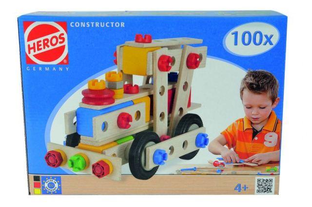 GS 39027 Heros Constructie doos 100 dlg.