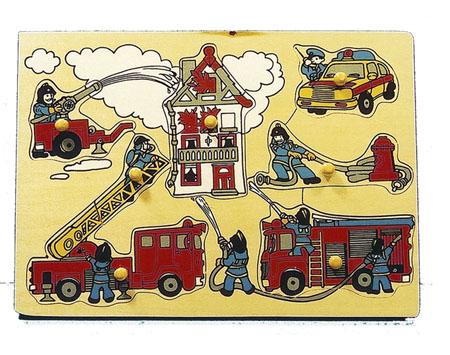 CT HZ 427 Knoppuzzel brandweer