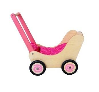 SG 01161Z Poppenwagen met roze details