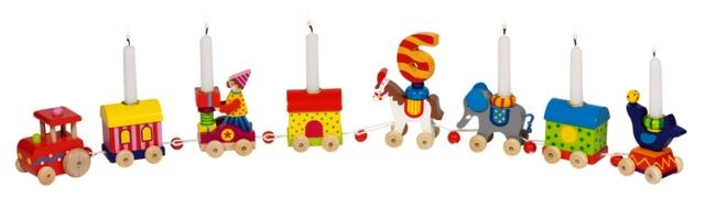 D 8660919 Verjaardags trein Circus