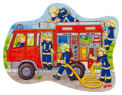 D 8657518-3 Puzzel brandweer