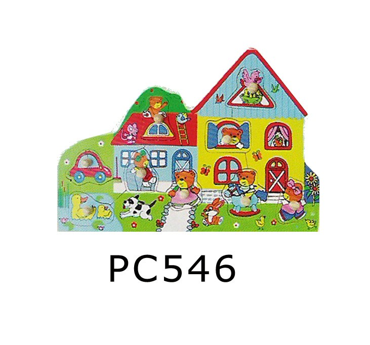 CT PC546 Knoppuzzel huis