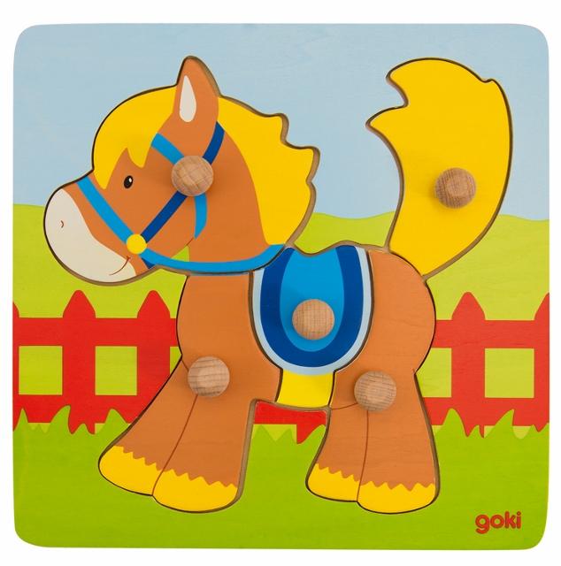 D 8657555 Steekpuzzel paard