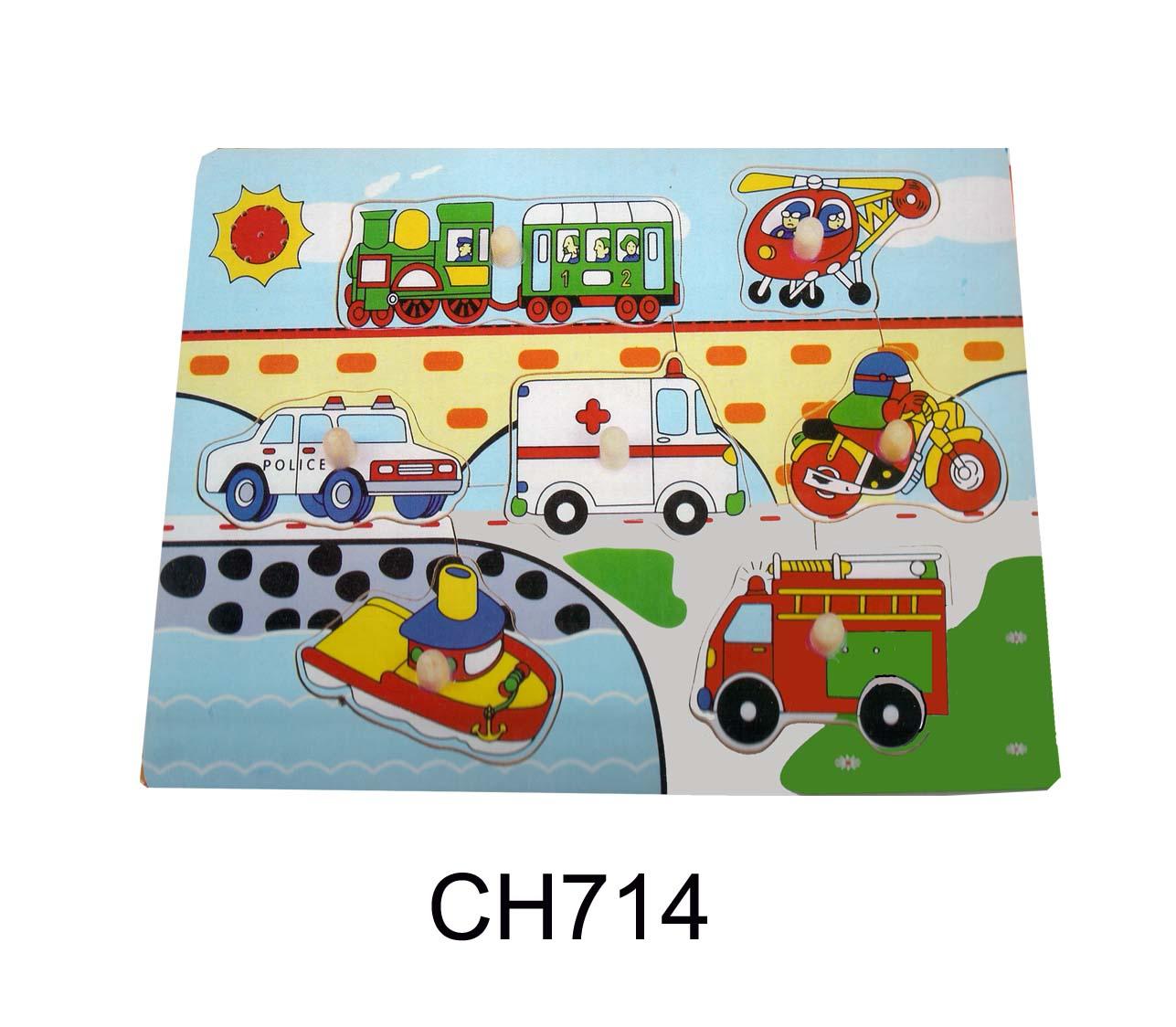 CT CH 714 Verkeerspuzzel met geluid
