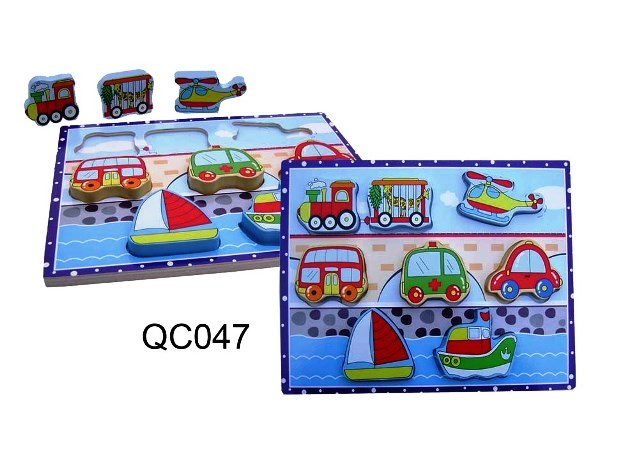 CT QC 047 Puzzel groete stukken transport