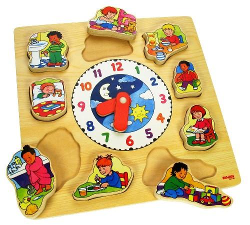 BJ 732 Klok puzzel