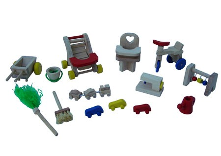 CT CH 348 Speelgoed en accessoires voor poppenhuis