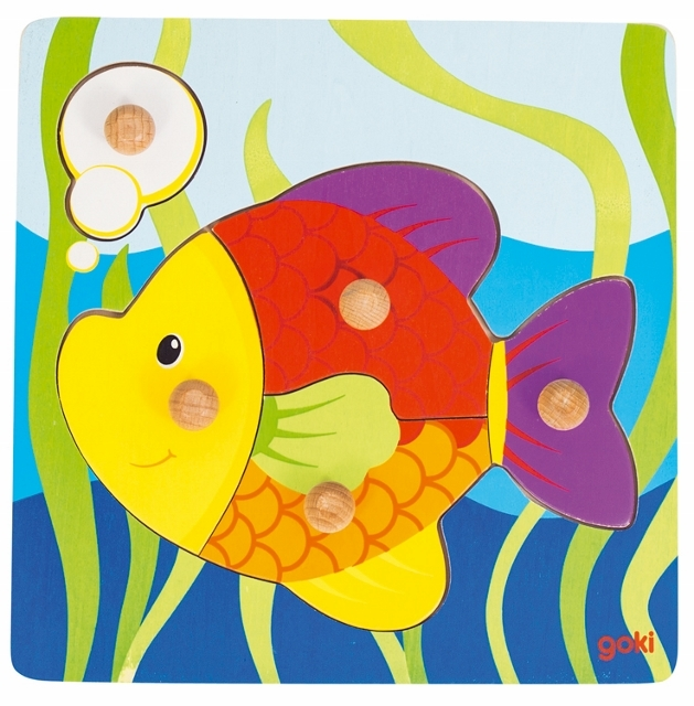D 8657554 Steekpuzzel vis
