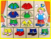 CT PC 526 Aankleedpuzzel jongen