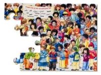 W 706750 Wereldvrienden puzzel